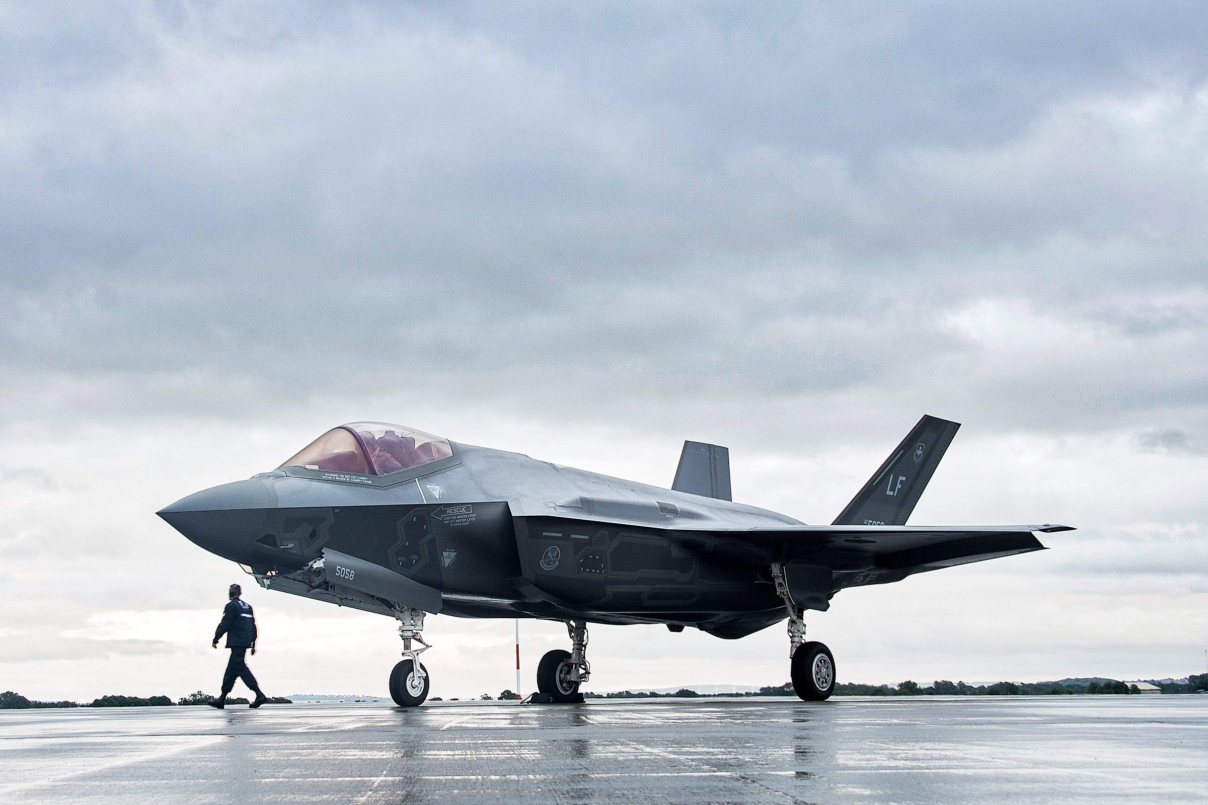 Meet the first female assigned to the Navy's F-35.
